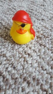 Pirate duck free with purchase
