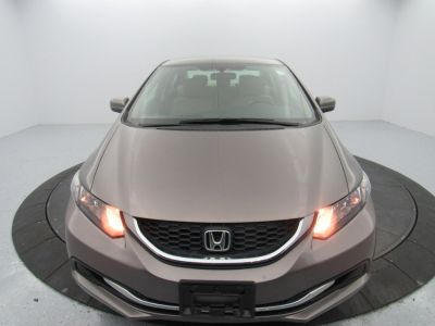 2015 Honda CIVIC SEDAN 4dr CVT LX (Gray)