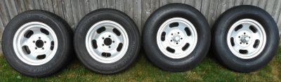 Ansen Style 15x7 & 15x3.5 Slotted Slot Aluminum Wheels R
