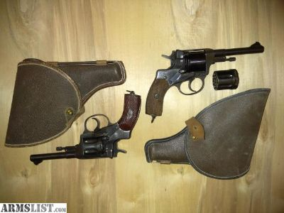 For Sale: 1895 nagant pistols