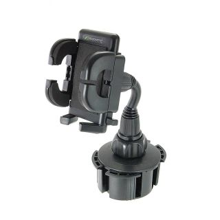 Bracketron Universal Cup-iT Cup holder Mount Phone Cradle For Car Hands Free Law Compatible iPhone X 8 Plus 7 SE 6s 6 5s 5 Samsung Galaxy S9