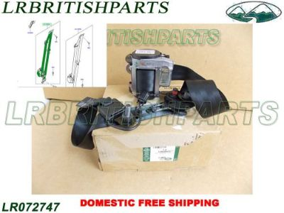 Find LAND ROVER FRONT SEAT BELT RANGE ROVER EVOQUE 5 DOORS RH OEM NEW LR072747 motorcycle in Miami, Florida, United States, for US $245.00