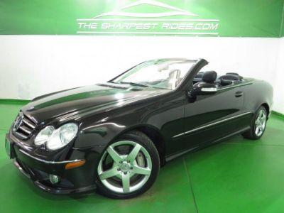 2007 Mercedes-Benz CLK-Class CLK550 Leather Navigation 1-Owner-CarFax