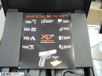 For Sale: SPRINGFIELD XDM 3.8 45 ACP