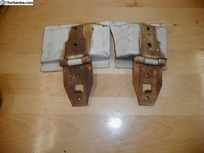Beetle Engine Lid Hinges Pair Used