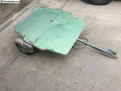 NOS Germain LeJour Besco folding trailer