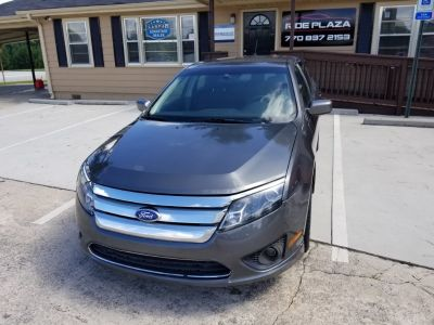 2011 Ford Fusion SE (Grey)