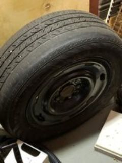 03 Crown Vic Spare Tire
