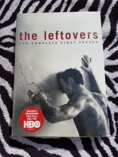 New in sealed plastic HBO series The Leftovers season one dvd with bonus scenes and extra behind the scenes footage