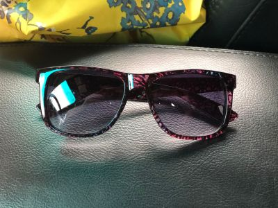 Purple Tortoise Shell Sunglasses