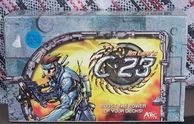 JIM LEE'S C-23 TRADING CARD GAME SEALD BX Boosters