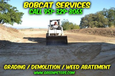 Professional Bobcat Land Grading Services