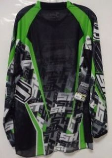 Purchase Shift Racing Motocross Strike Jersey Large Green Black White Dirt Bike Racing LG motorcycle in Columbia, Connecticut, United States, for US $11.99
