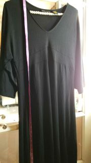 Brand new black comfy dress with tags never worn, size M