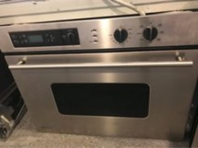 GE Monogram stainless steel oven