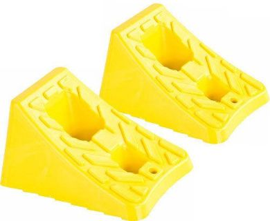 Sell QTY 2 COMPOSITE WHEEL CHOCKS STOP BLOCKS-CAR TRUCK RV CAMPER TRAILER DH-PWC-1-2 motorcycle in West Bend, Wisconsin, US, for US $21.99