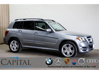 2015 Mercedes-Benz GLK350 4Matic AWD Crossover (Silver)