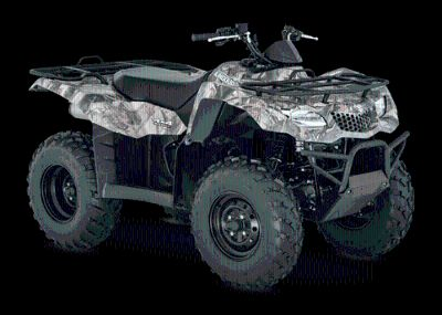 2016 Suzuki KingQuad 400ASi Camo Utility ATVs Johnson City, TN