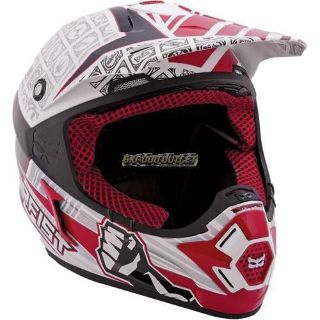 Buy 2017 MotorFist Dominator Helmet-Red/White motorcycle in Sauk Centre, Minnesota, United States, for US $299.99