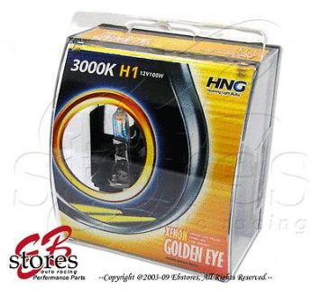 Buy Yellow (Golden Eye) H1 100w Xenon HID Foglight Bulb 2pc motorcycle in La Puente, California, US, for US $12.95