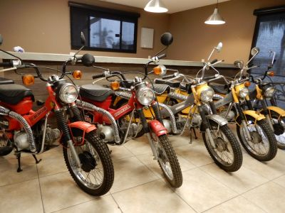 1981 Honda Trail CT 110 -5 Bikes