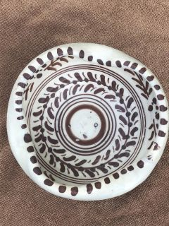 Signed Toledo Hand Thrown Vintage Art Pottery Ash Tray or Bowl