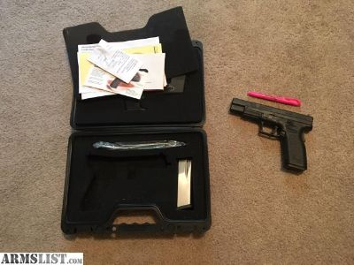 """For Sale: XD 45 5"""" Tactical"""