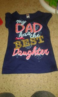 Dad and daughter shirt size 5