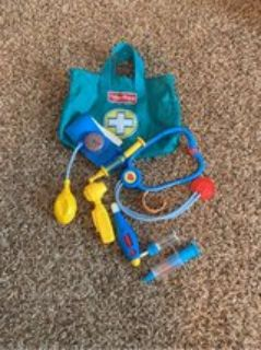 fisher price doctor play set