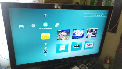 """TV LG 55"""" with remote (not a smart TV)"""