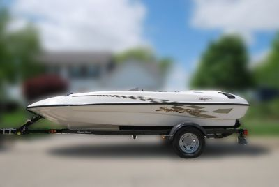 2001 Sugar Sand Boat and Trailer