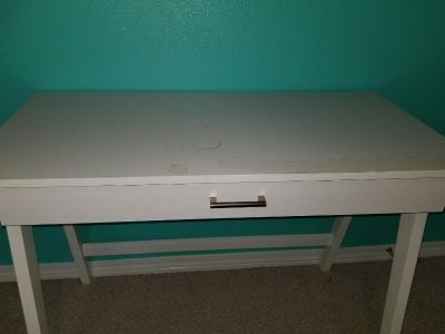 FREE White Desk with damage on top