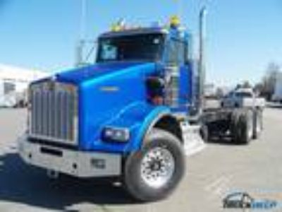 New 2013 Kenworth T800B for sale.