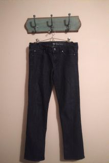 Gap size four real straight jeans OBO
