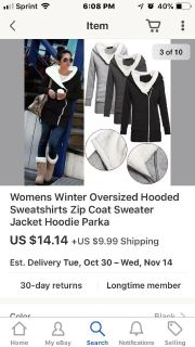 Zanzea collections women s xxl zip coat sweater very warm runs about a xl ment to fit long . Used pics from the collection. Needs a lint rol