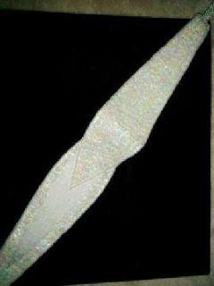 White Beaded Rhinestones Sash Bling Crystal Waist Belt / Bridal Access