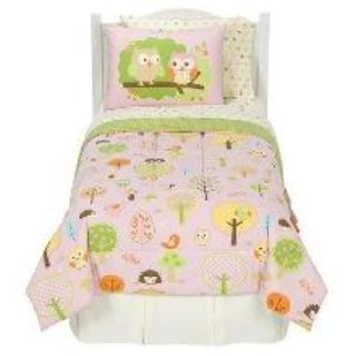 LOVE N NATURE 13 pc Comforter Set with Decorative Pillows & Tooth Brush Holder