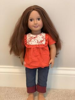 Our Generation 18 Doll - used