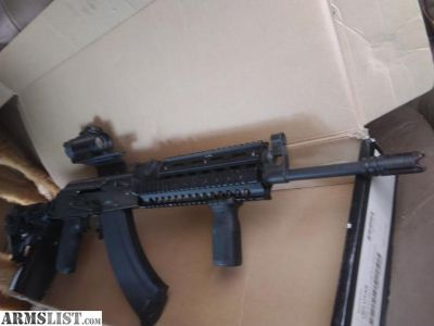 For Sale: IO arms Ak47 w/ max accesories