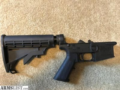 For Sale: Complete Polymer New Frontier AR-15 LOWER