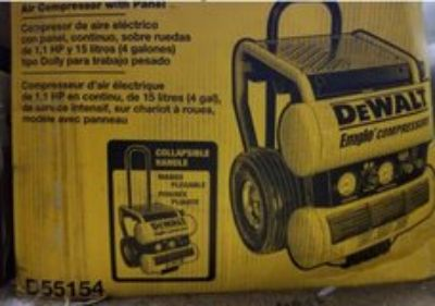 DeWalt Air Compresser