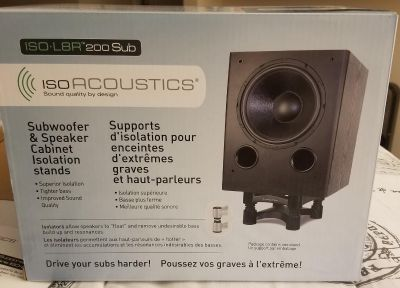 ISOL8R 200 (Subwoofer Stand)