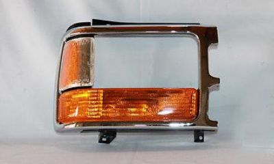 Purchase w CHR Bezel Parking Side Lamp Light Passenger Side motorcycle in Grand Prairie, Texas, US, for US $81.47