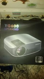 (Unopened) Crenova YG600 UPGRADED LED Projector