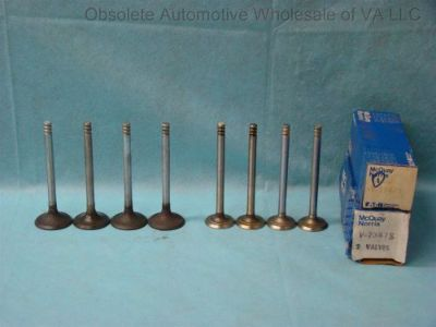 Sell 1971 72 73 Ford Pinto Capri 1.6L Intake & Exhaust Valve Set 8 Kent 1600 98 4 Cyl motorcycle in Vinton, Virginia, United States, for US $90.00