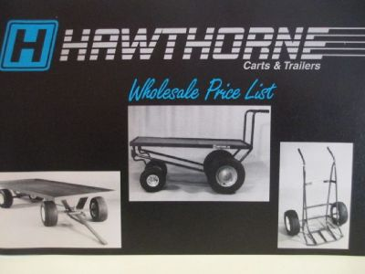 """HAWTHORNE"" Nursery - Green House - Ware House Trailers. $400 OFF!"