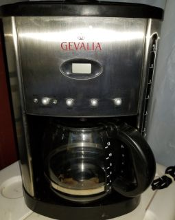 Gevalia 12 cup coffee maker