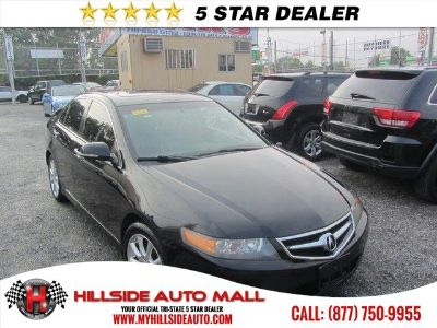 2008 Acura TSX Base (Black)