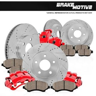 Purchase Front and Rear Calipers & Rotors & Pads 1999 2000 2001 2002 FORD MUSTANG BASE GT motorcycle in Chicago, Illinois, United States, for US $405.53