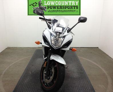 2012 Yamaha FZ6RBW/C White